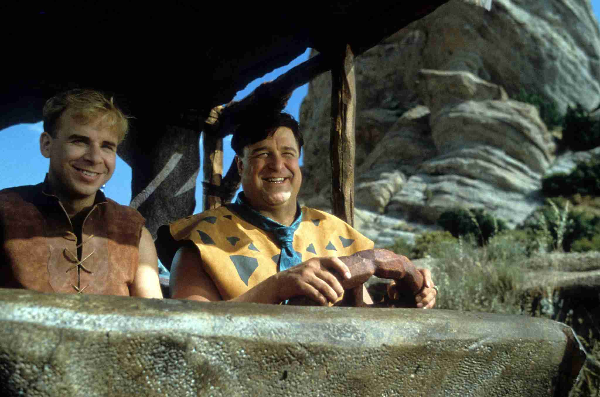 From the 1994 movie, The Flintstones (Photo by Universal/Getty Images)