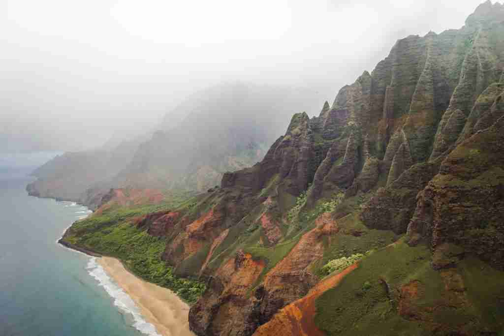 A coastal area of Hawaii. (Photo by Casey Allen/Unsplash)