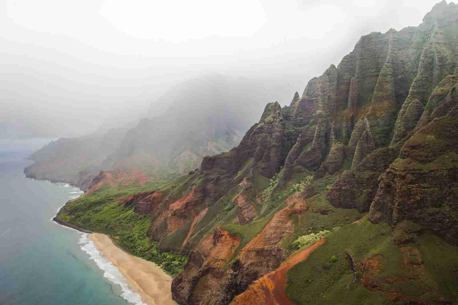 A coastal area of Hawaii. (Photo by Casey Allen/Unsplash)