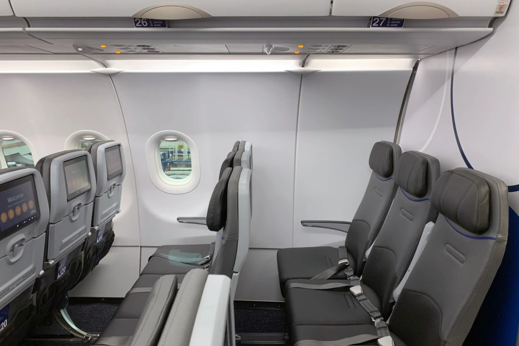 Where to Sit When Flying JetBlue's Retrofitted Airbus A320