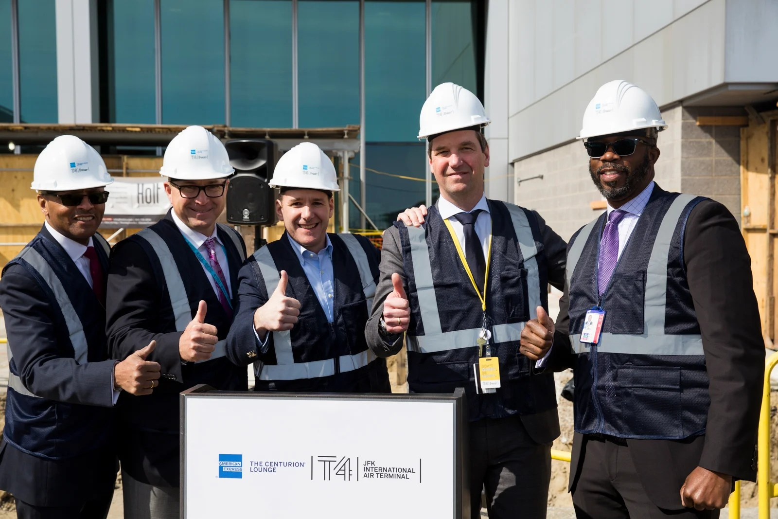 Amex Starts Building New York JFK's Centurion Lounge