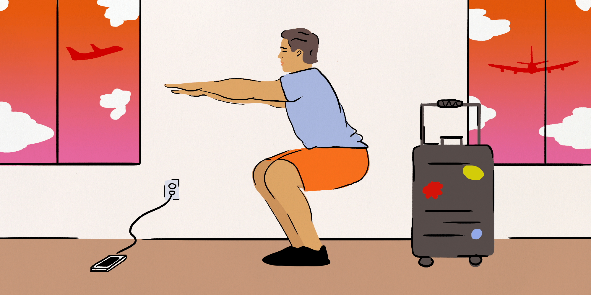 6 universal etiquette tips for anyone who exercises while traveling