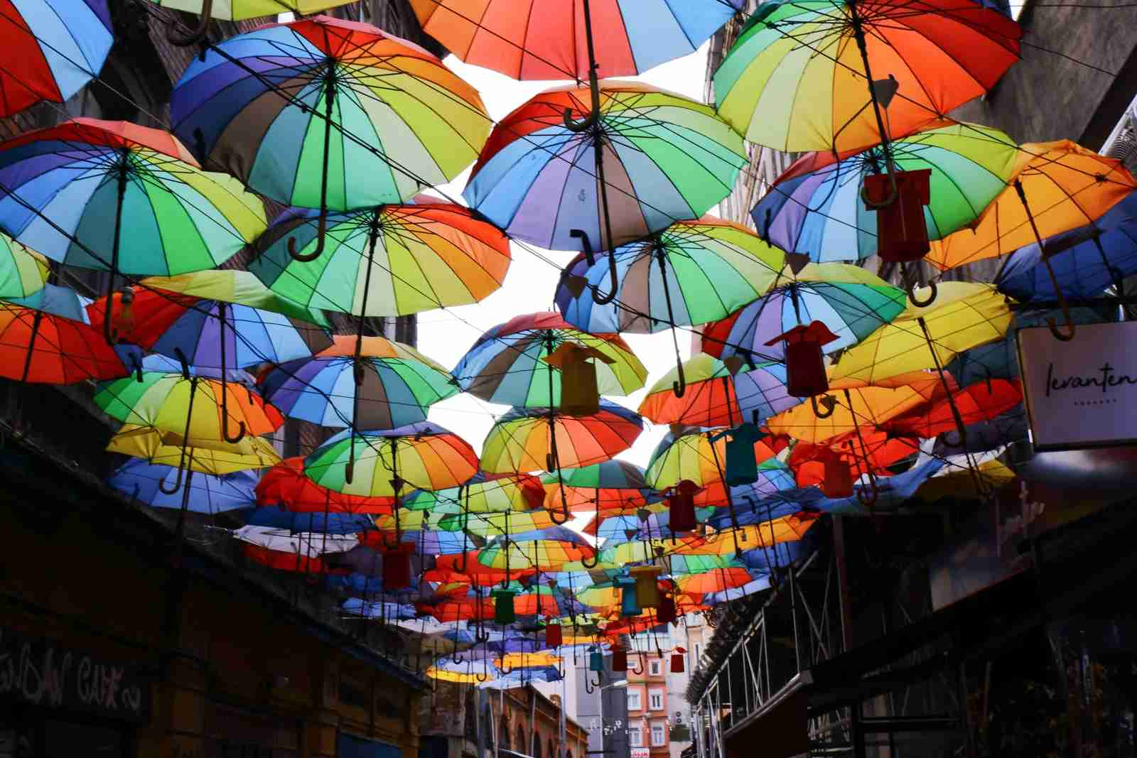 The colorful neighborhood of Karaköy in Istanbul, Turkey. (Photo by Umut Yilman/Unsplash)