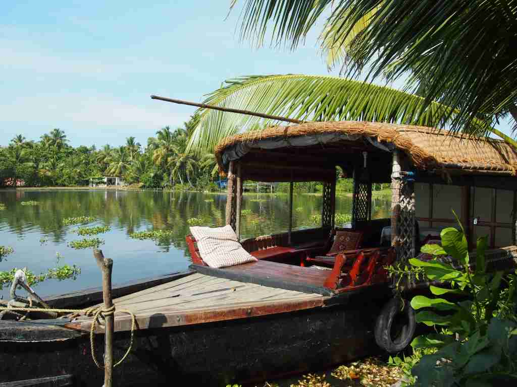 A houseboat in Kerala (Photo by Elen Turner)