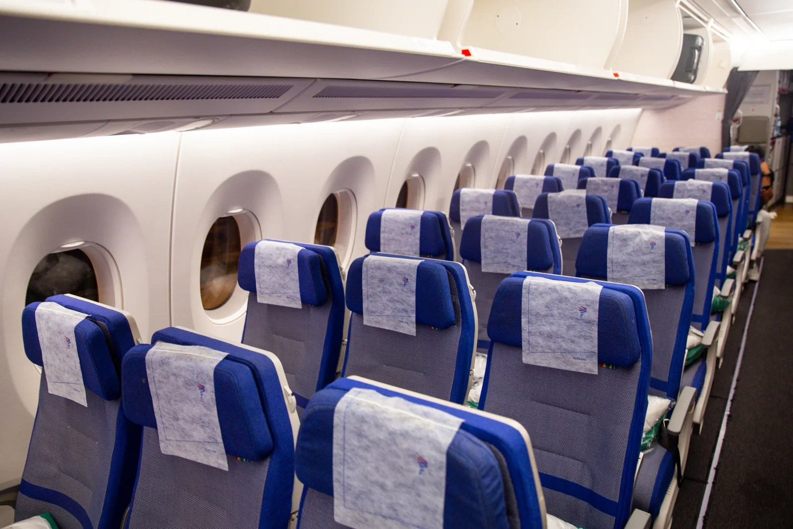 Review: LATAM's A350 in Coach From Sao Paulo to New York