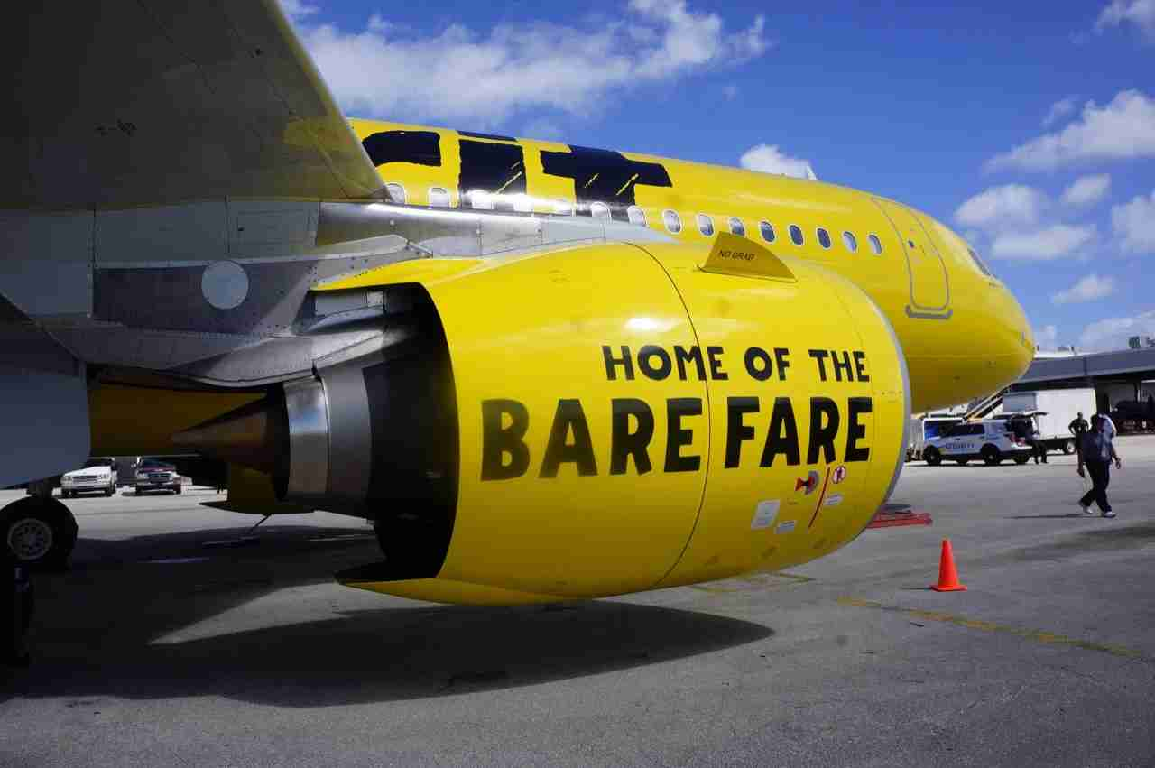 "Spirit's ""Home of the Bare Fare"" slogan promotes its no frills, unbundled value proposition. That moniker is being removed as part of the airline"