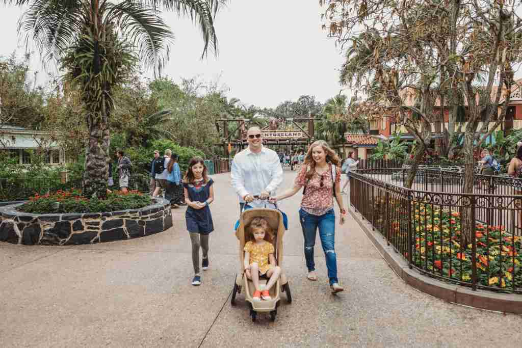 Standard strollers are still allowed (Photo by Melissa Ann Photography)