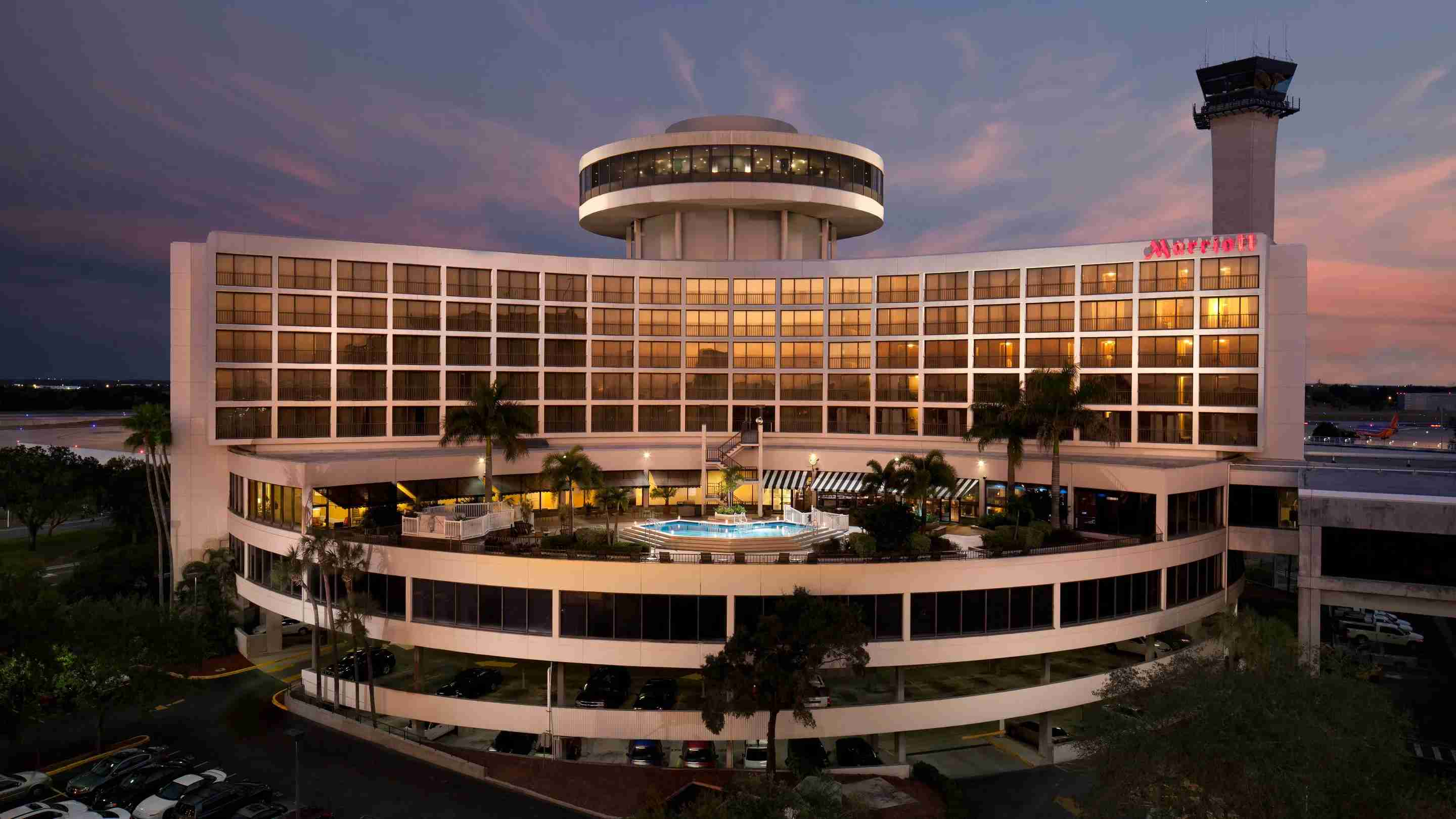 Image courtesy of the Tampa Marriott Airport Hotel