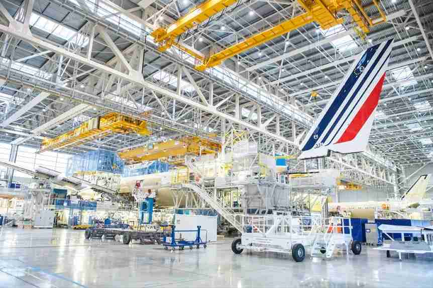 Air France A350 in progres