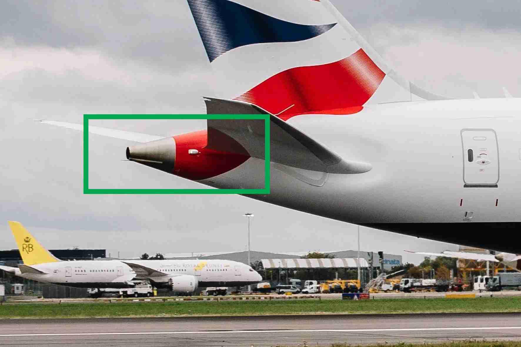 Boeing 787 Dreamliner APU. Image via British Airways.