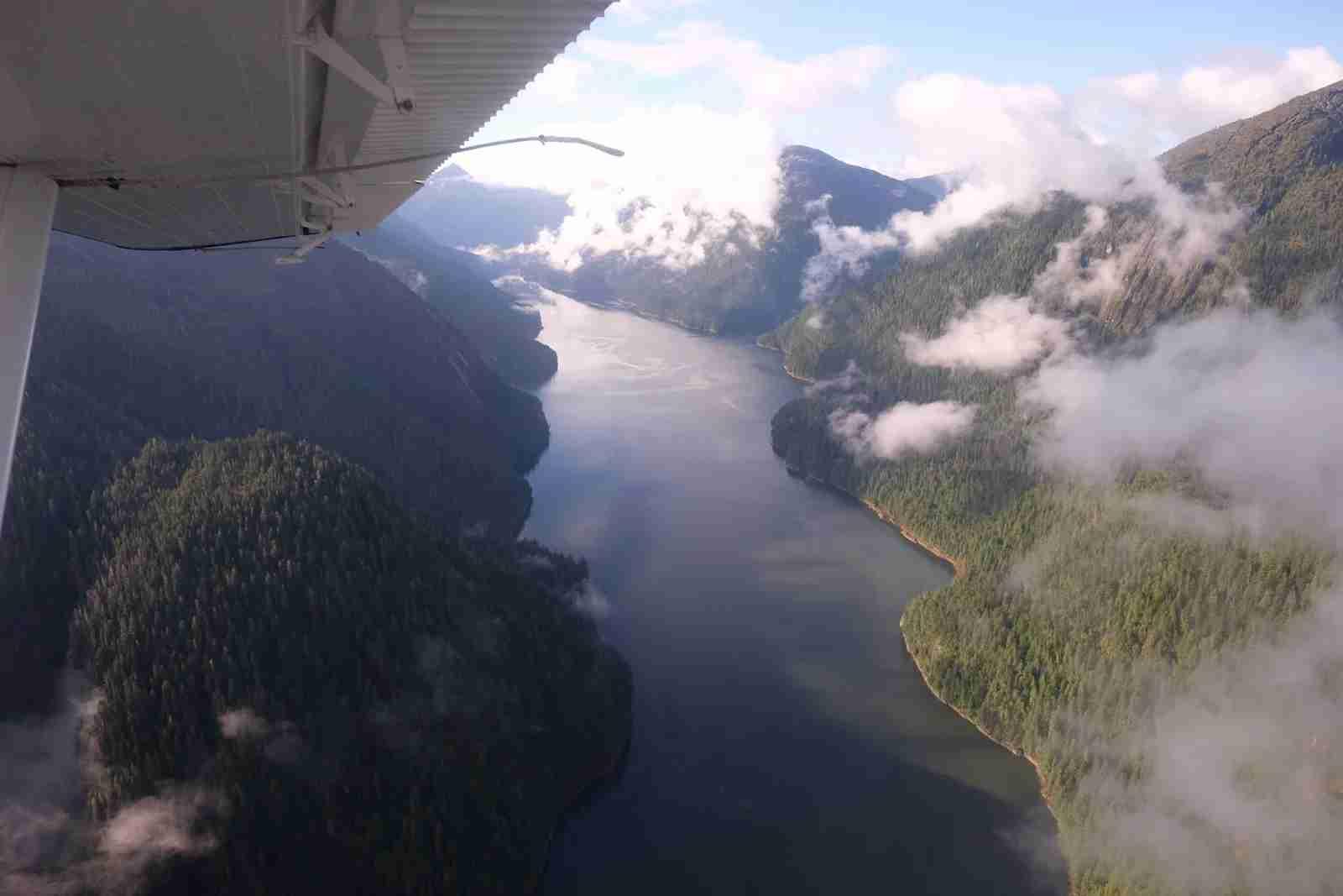 The fjords of Alaska. (Photo by Bruce Warrington/Unsplash)