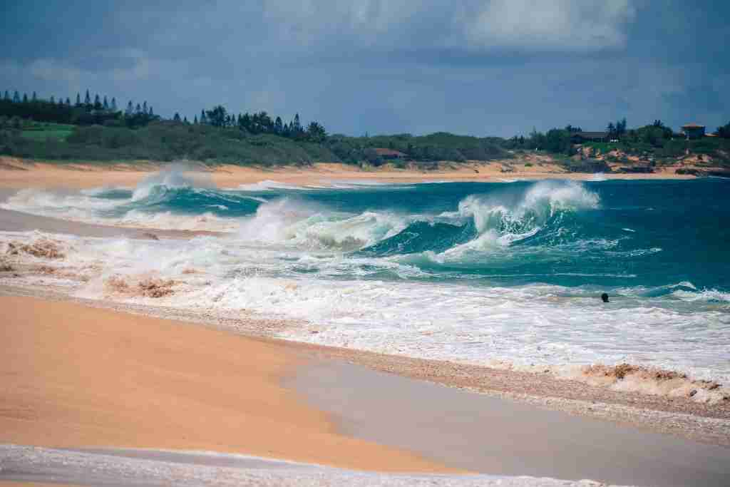 Unspoiled beaches are everywhere in Molokai