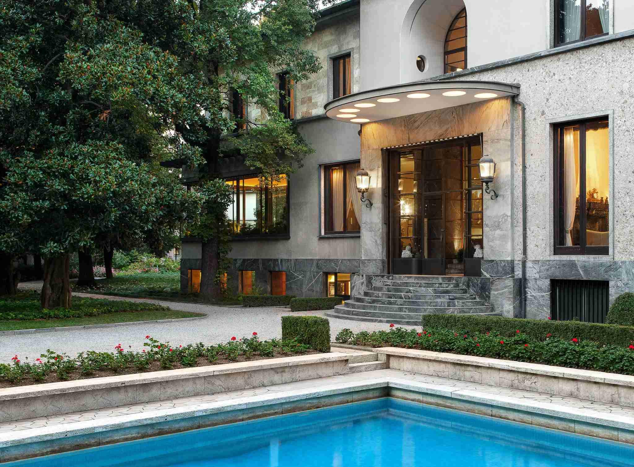 Villa Necchi Campiglio in Milan is a must-visit site for architecture and design lovers. Photo courtesy of FAI.