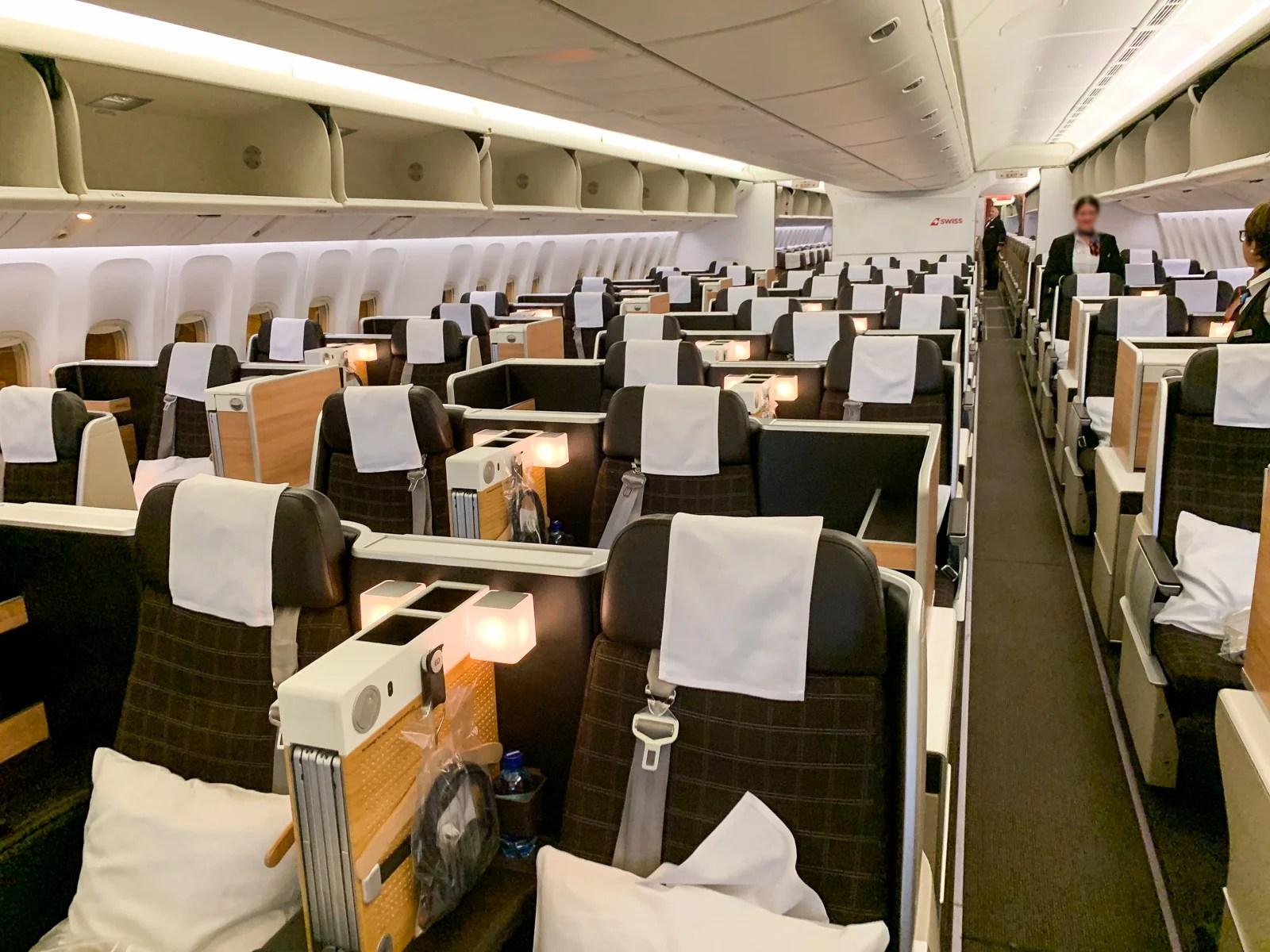 Review Swiss Air Lines 777 Business Class Zrh Sin