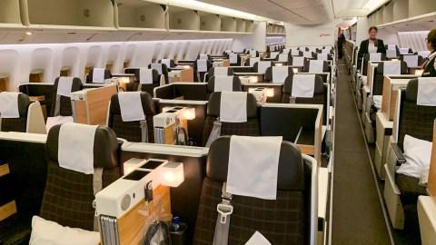 Review: Swiss Air Lines 777 Business Class ZRH-SIN