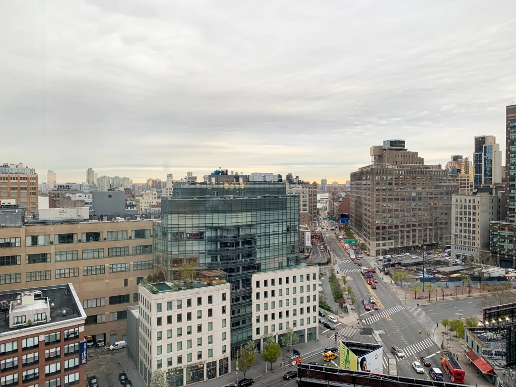 View from Sheraton Tribeca on the 17th floor (Photo by Summer Hull / The Points Guy)