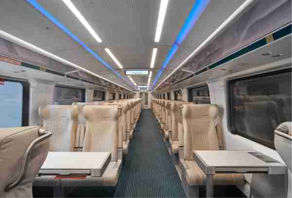 Inside Brightline / Virgin Trains USA. (Rendering courtesy of Brightline)