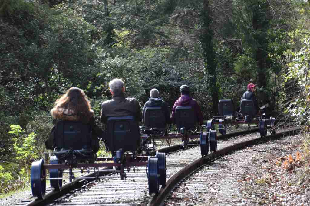 Rail Bikes Mendocino Fort Bragg California