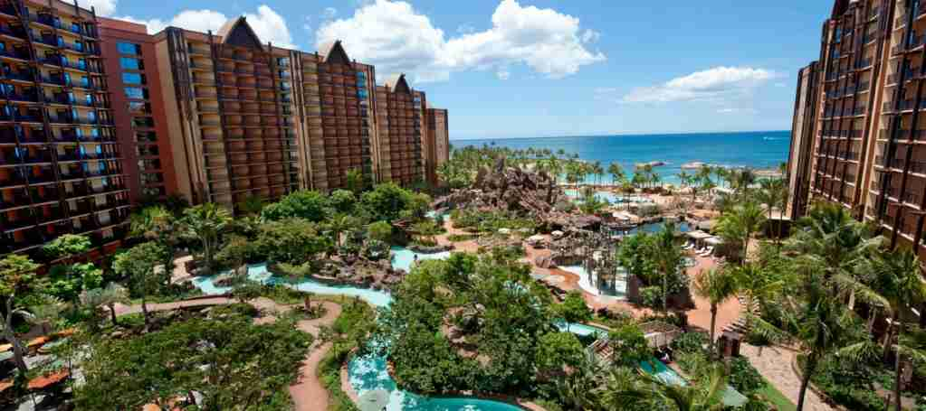 Disney Aulani Pool View