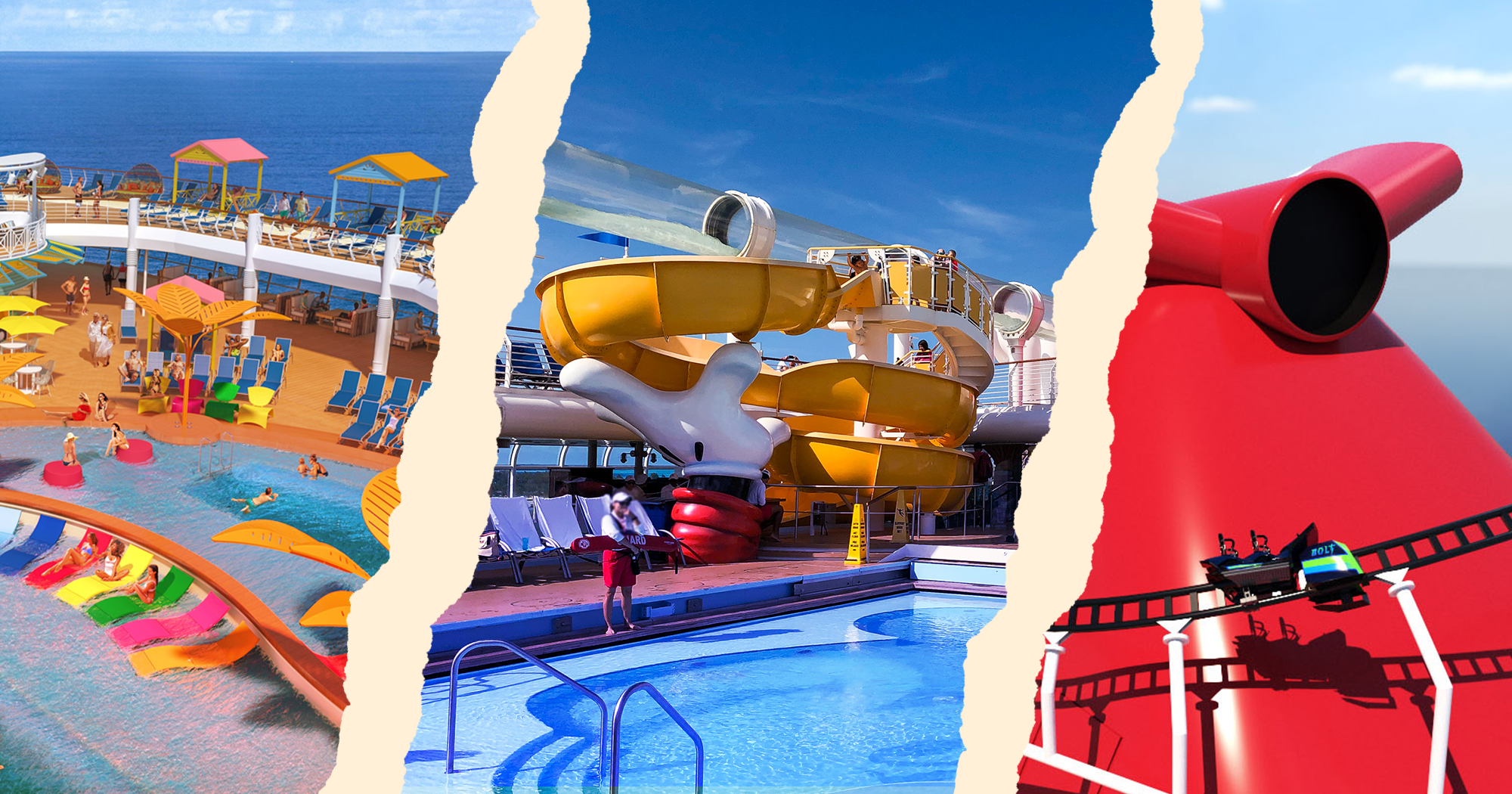 Cruise line showdown: Comparing Carnival, Disney and Royal Caribbean for families