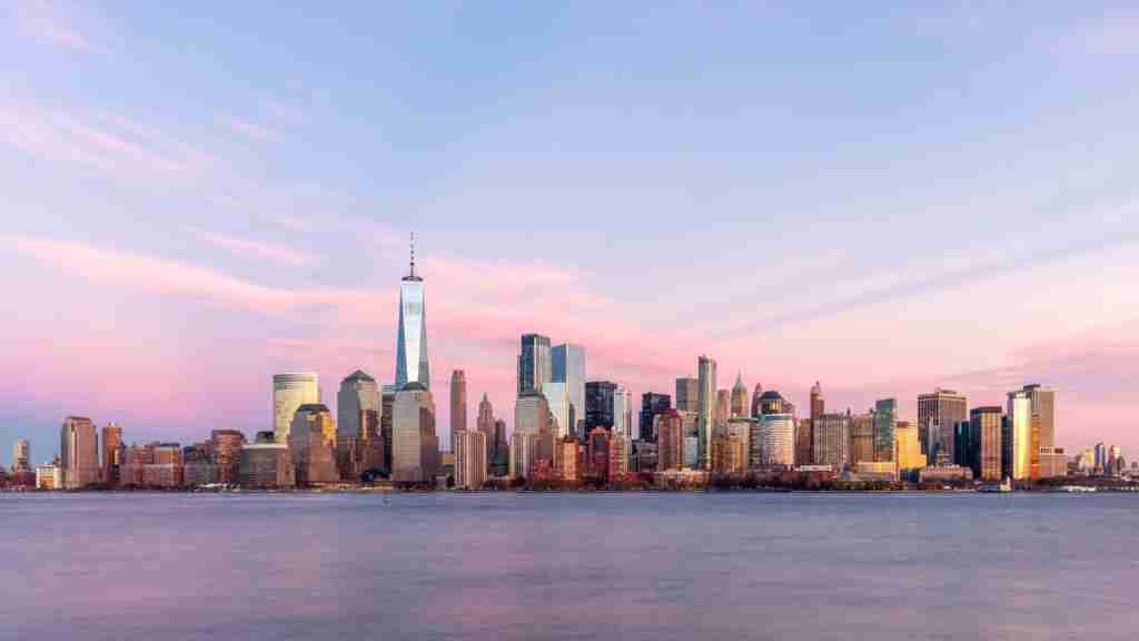 View of the skyline of New York. (Photo by Getty Images)