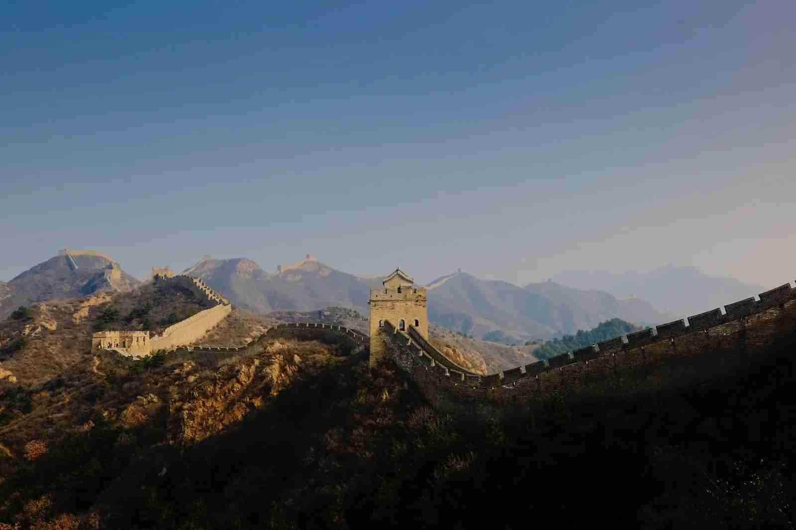 The Great Wall of China. (Photo by William Christen / Unsplash)
