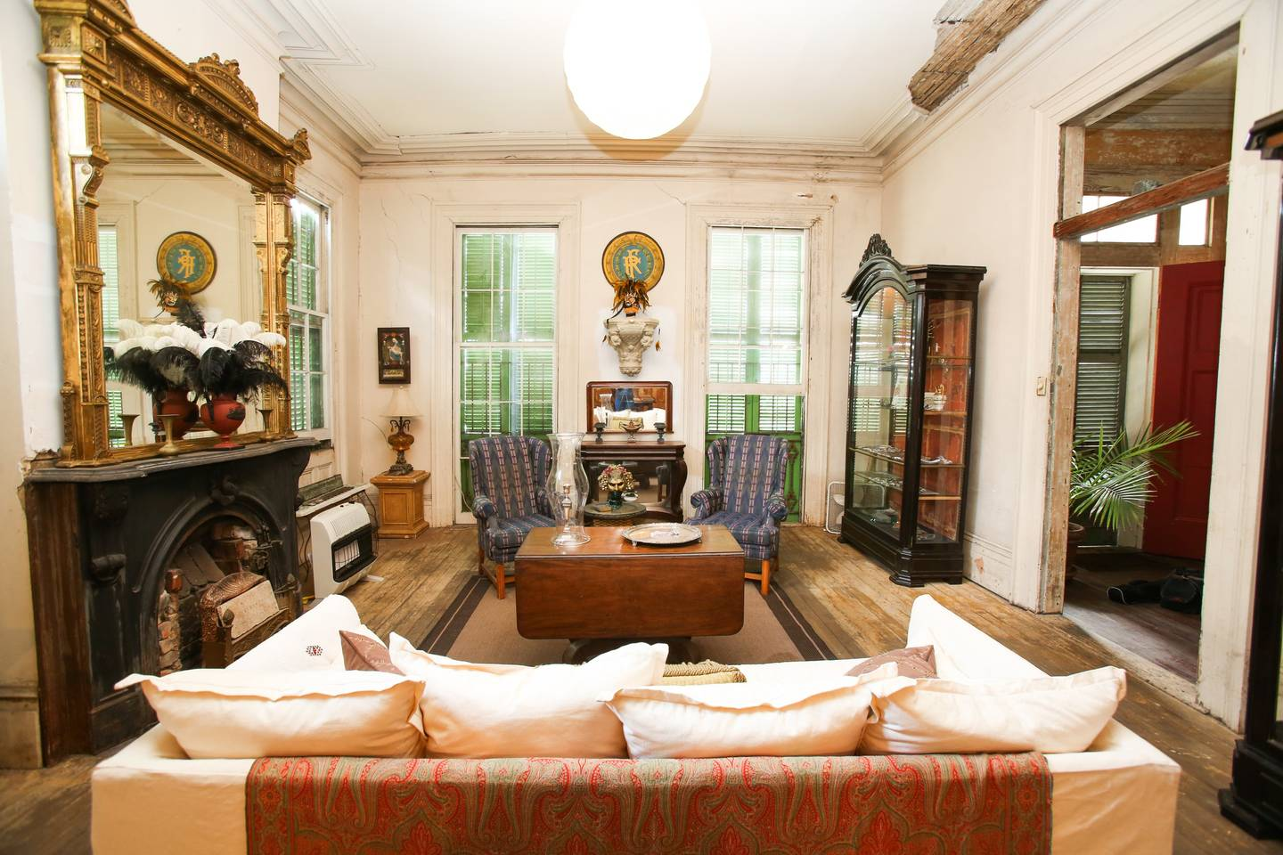 This Creole Mansion is in walking distance of the French Quarter. Photo courtesy of Airbnb.