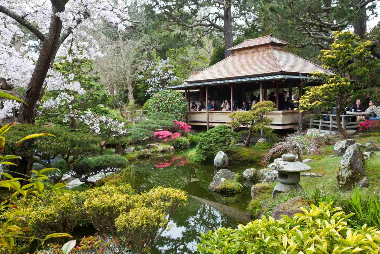 The Japanese Tea Garden at Golden Gate Park (Photo by John S Lander/LightRocket via Getty Images)