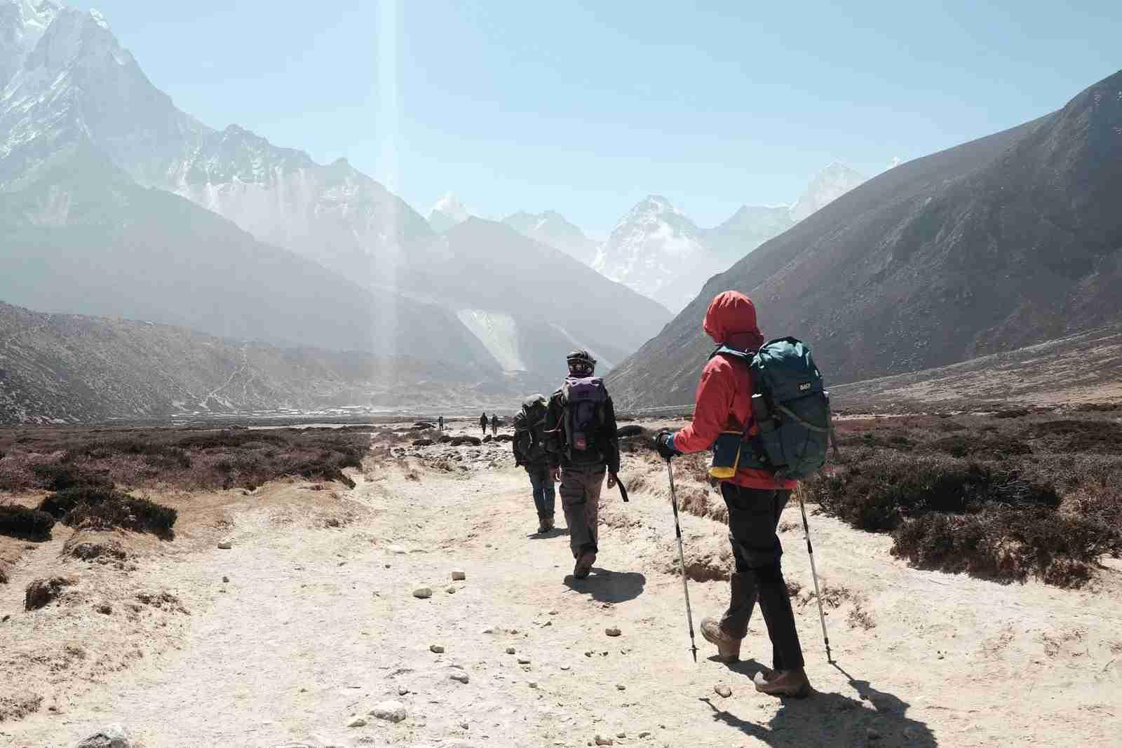 The Kala Patthar Peak on Mount Everest. (Photo by Ted Bryan / Unsplash)