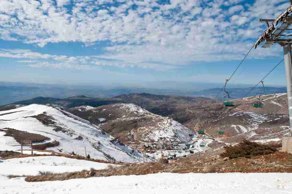 Mount Hermon, Israel, in the winter. (Photo by larisa65 / Getty Images)