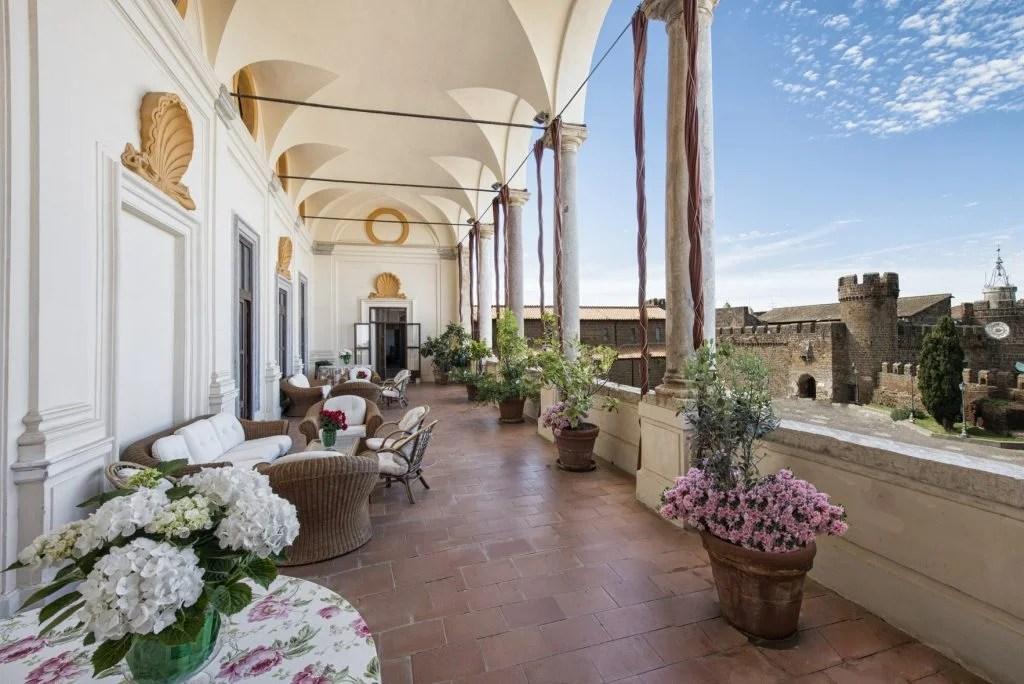 Palazzo Ruspoli in Cerveteri. Photo courtesy of Rete delle Dimore Storiche del Lazio.