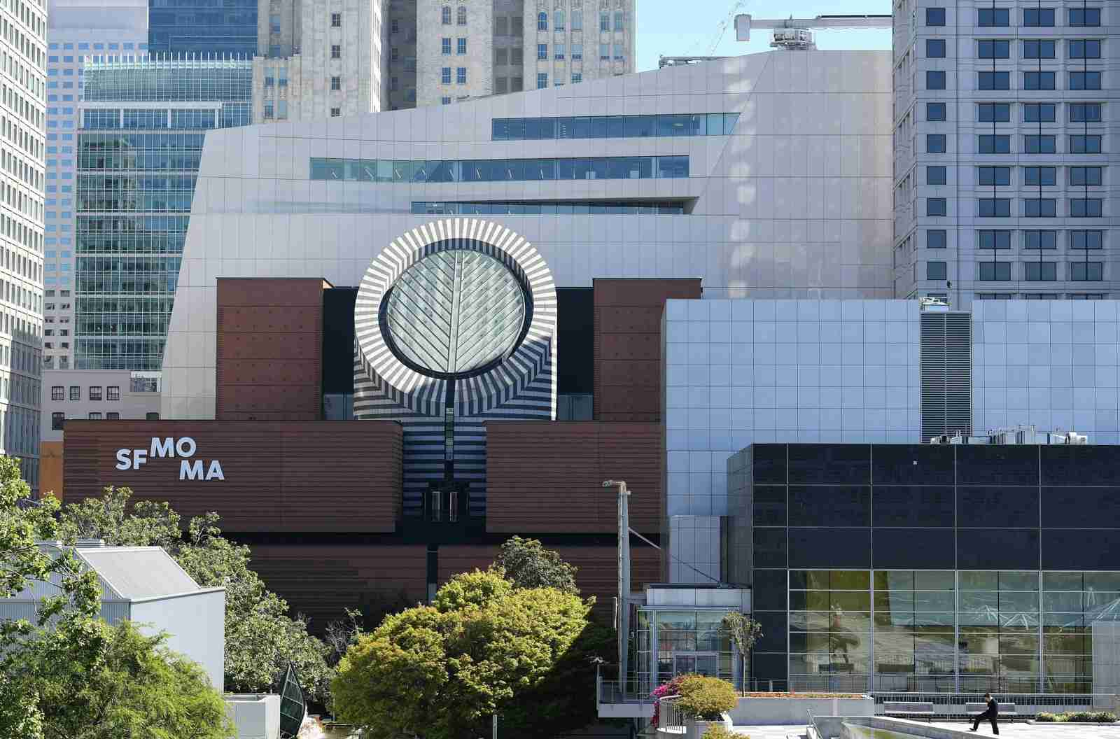 The San Francisco Museum of Modern Art (SFMOMA). (Photo by JOSH EDELSON/AFP/Getty Images)