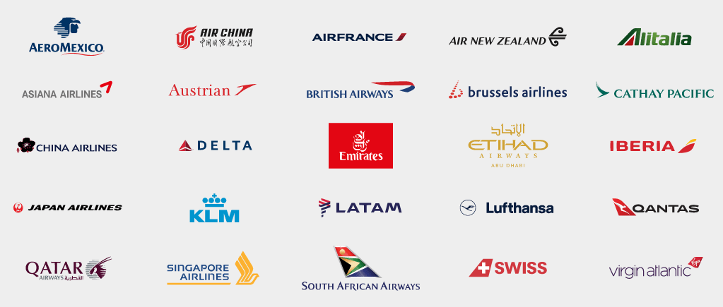 International Airline Partners as of Apr. 26, 2019.