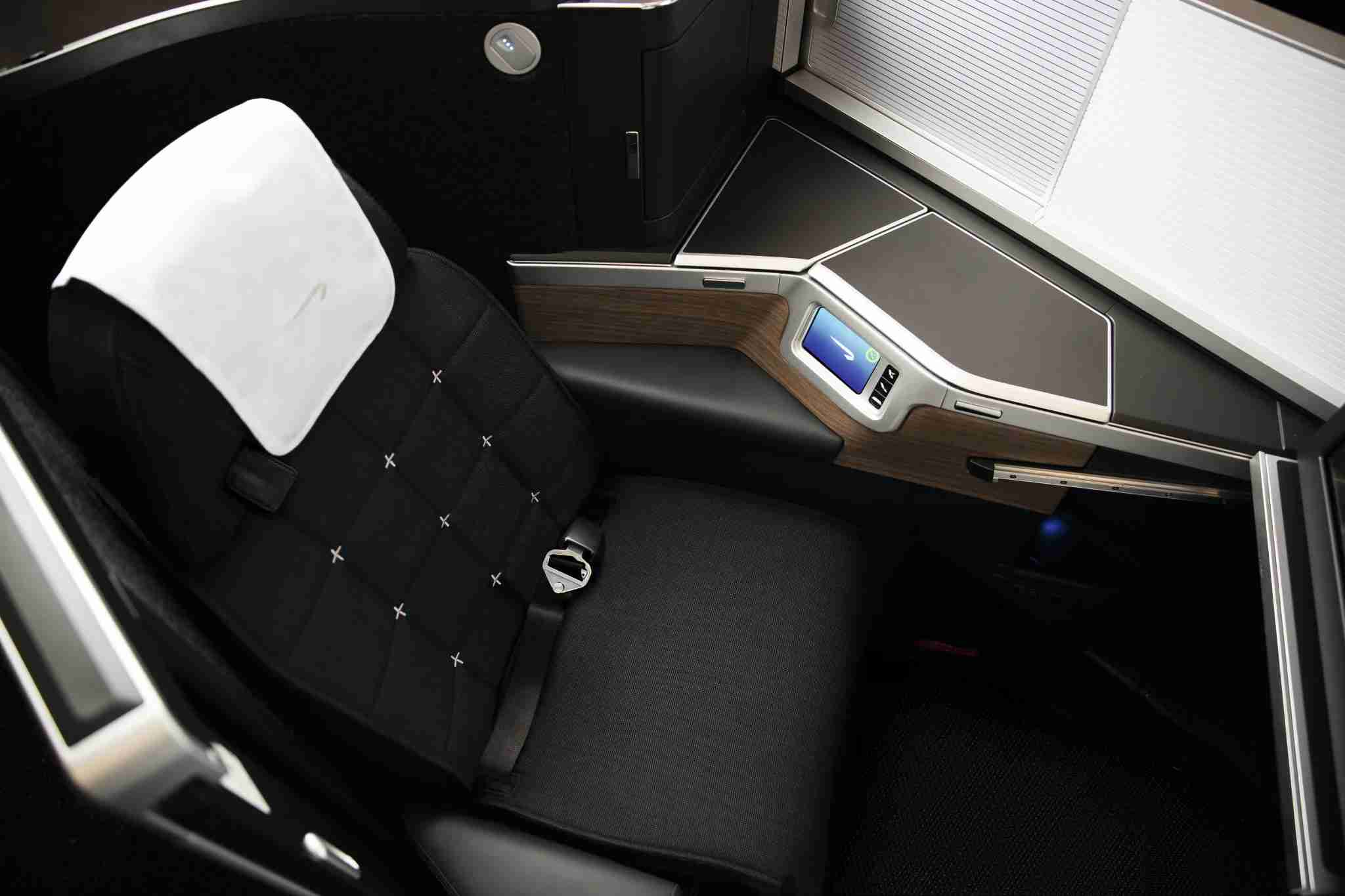 **STRICT EMBARGO** LONDON, UK: New Club World seat developed through Project Vector, photographed on 10 Decemeber 2018 (Picture by Nick Morrish/British Airways)