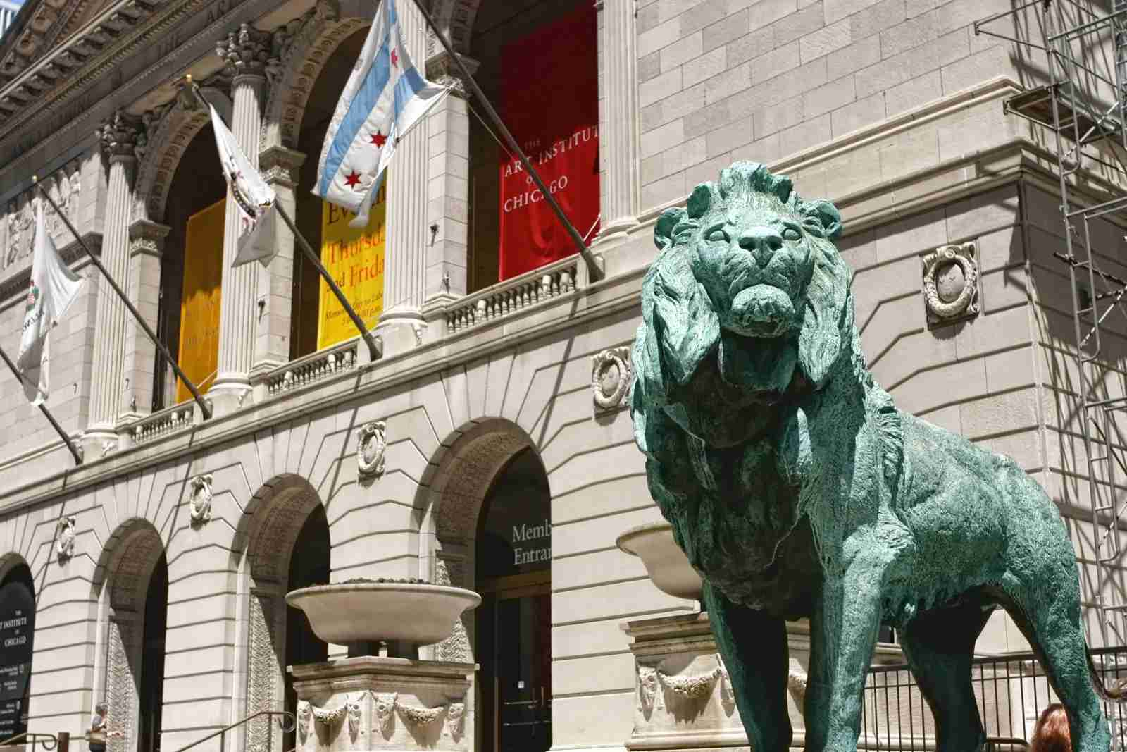The Art Institute of Chicago Lions. (Photo by Christopherarndt / Getty Images)