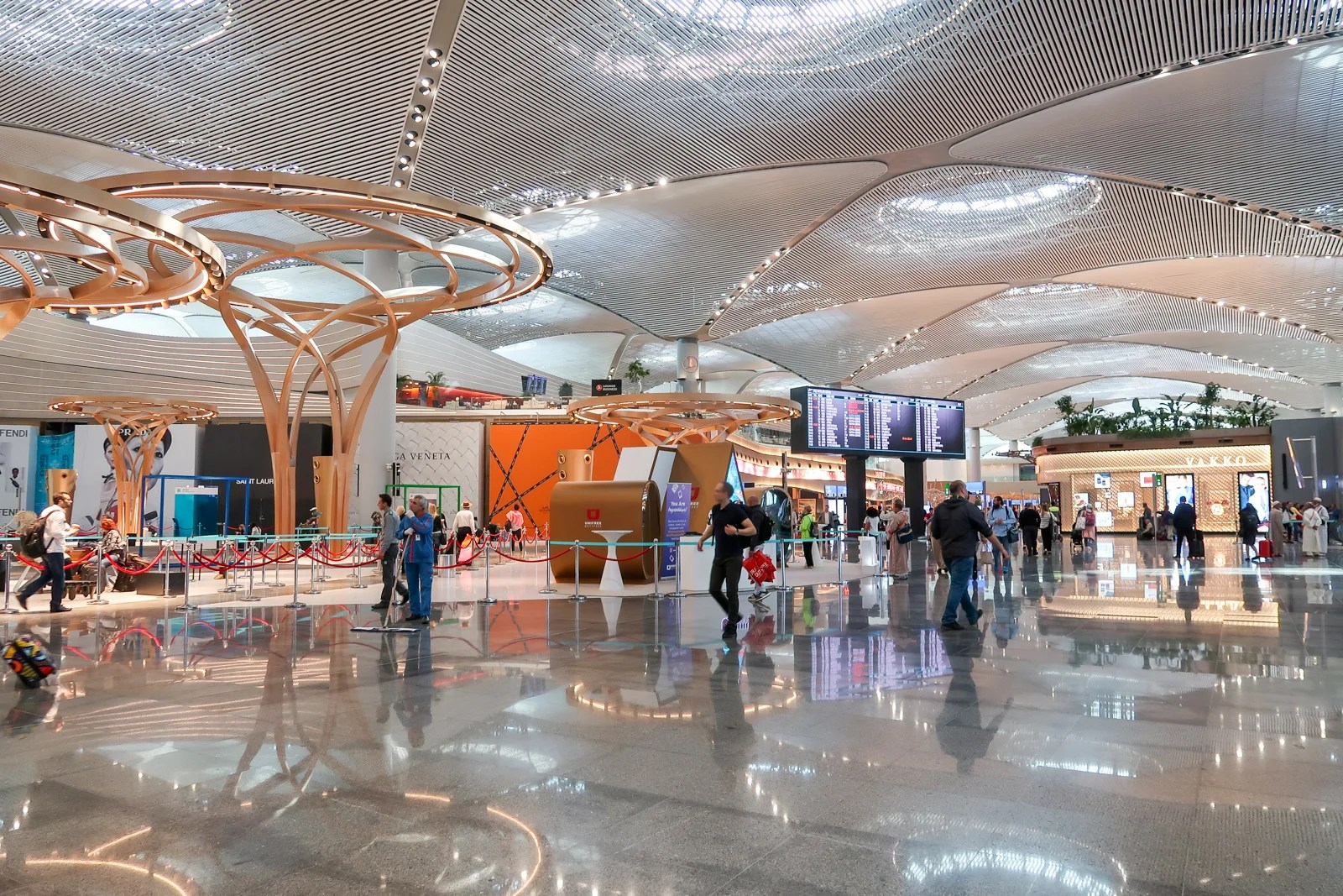 Inside New Istanbul Airport The Largest Airport Terminal