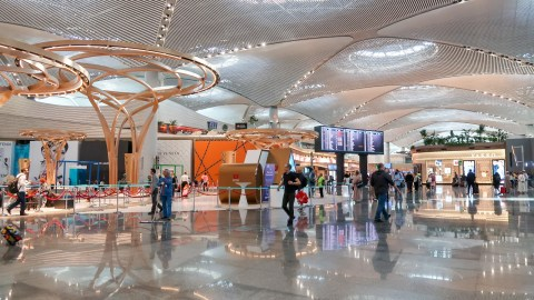 Inside New Istanbul Airport - the Largest Airport Terminal