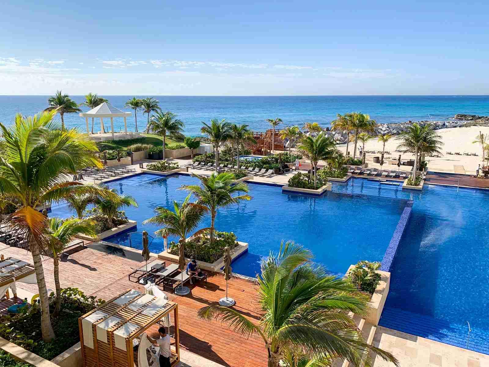 Hyatt Ziva all-inclusive in Cancun (Photo by Zach Griff)