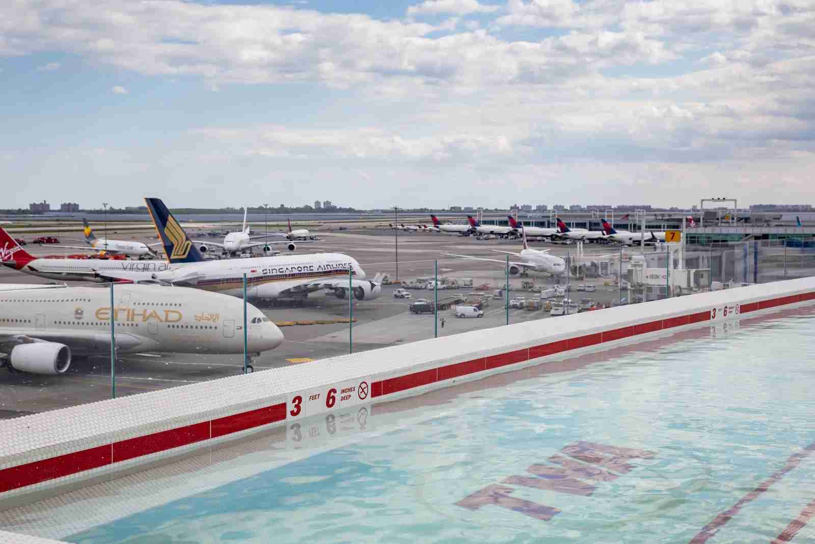 Can you think of a better way to spend a layover? (Photo by Brendan Dorsey / The Points Guy)