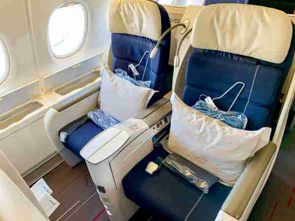Air France A380 Business Class