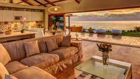 South Africa Coastal Living Room Sunset