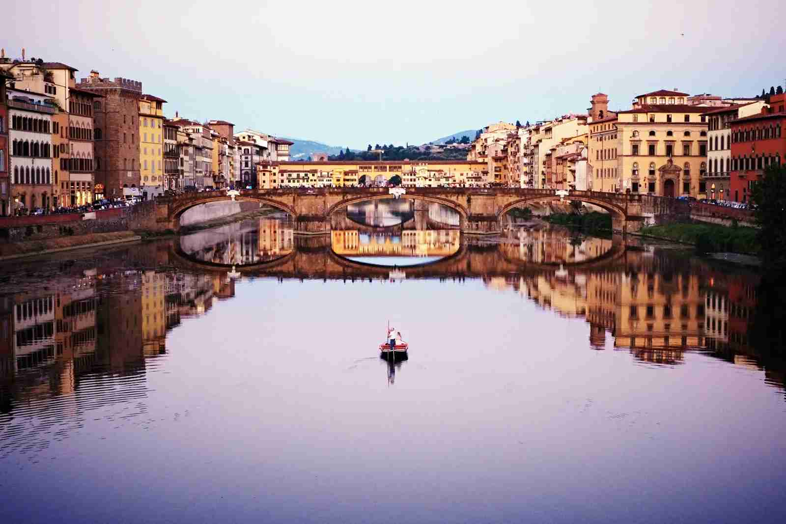 The Arno River. (Photo by Baldemar / Getty Images)