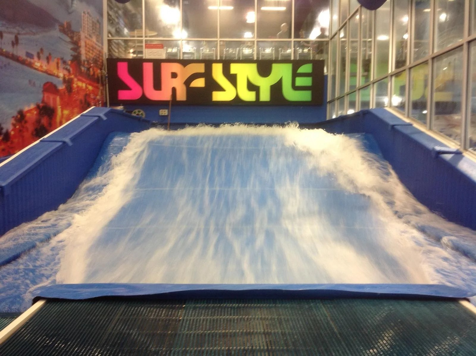 The Flow Rider Surfing Simulator. (Photo courtesy of Visit Clearwater Beach / Facebook)
