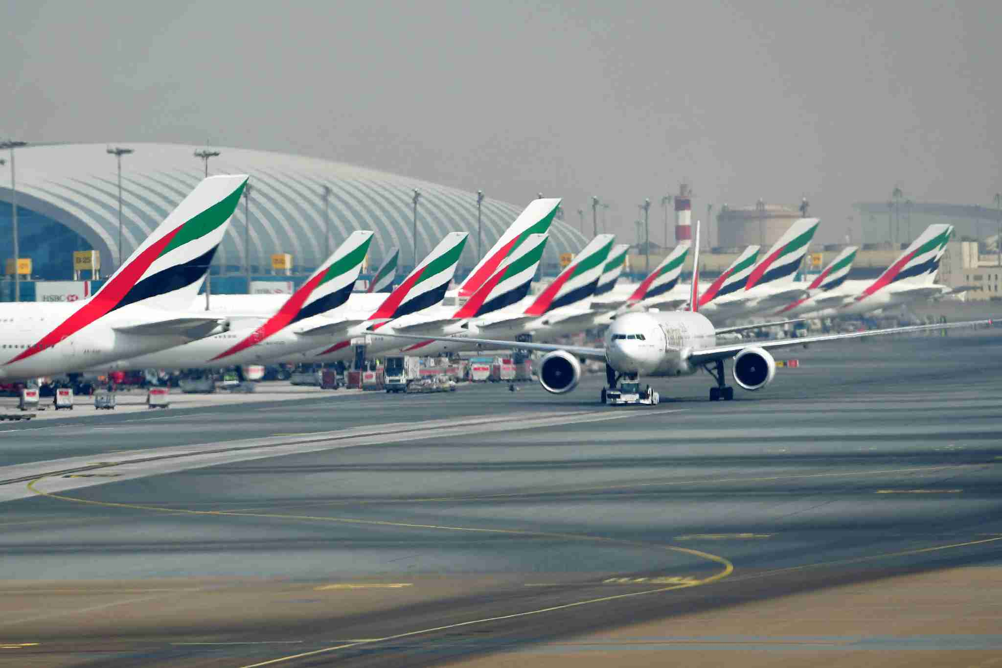 Dubai International Airport (DXB) (Image by GIUSEPPE CACACE/AFP/Getty Images)