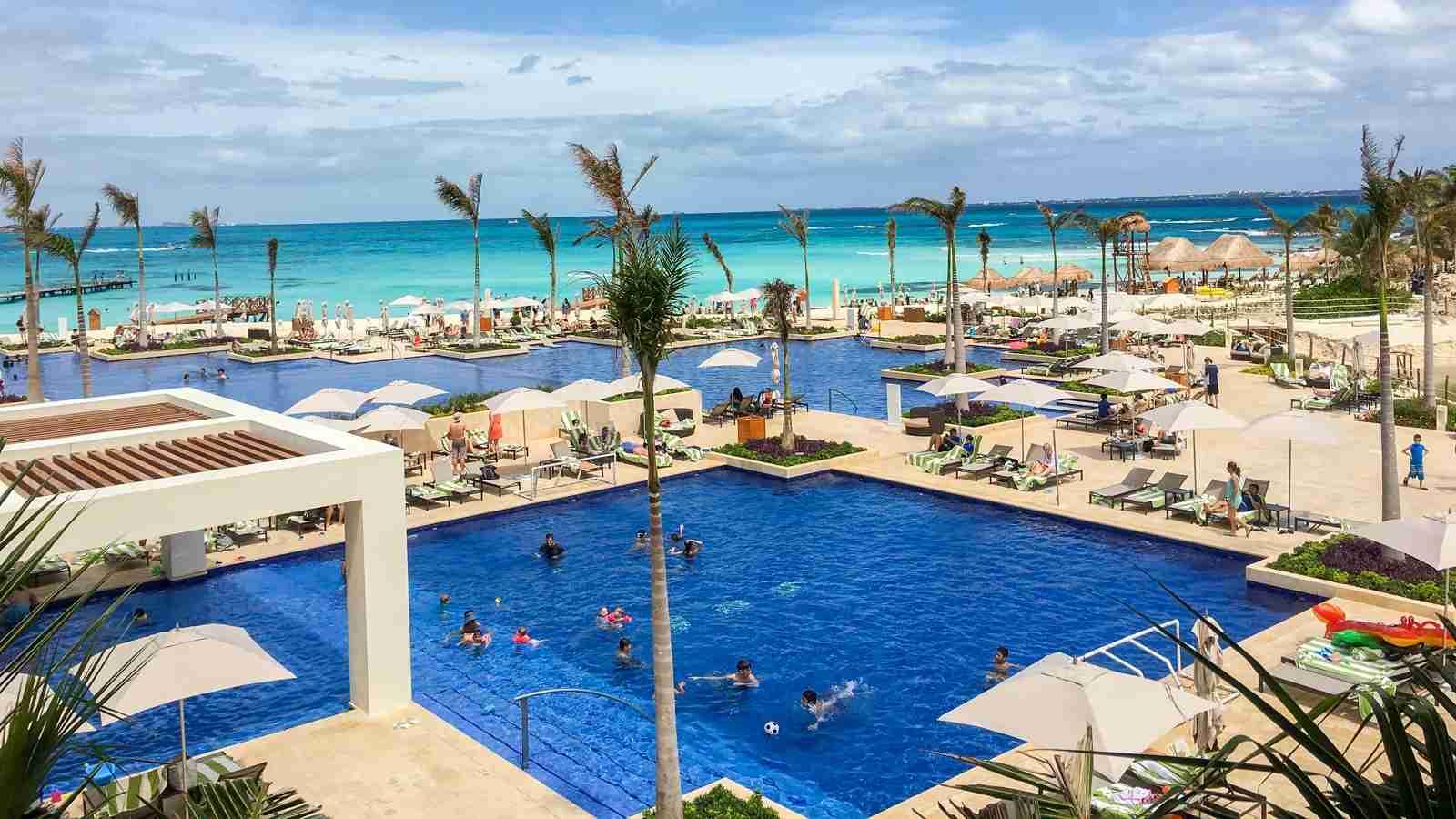 Hyatt Ziva Cancun (Photo by Summer Hull/The Points Guy)