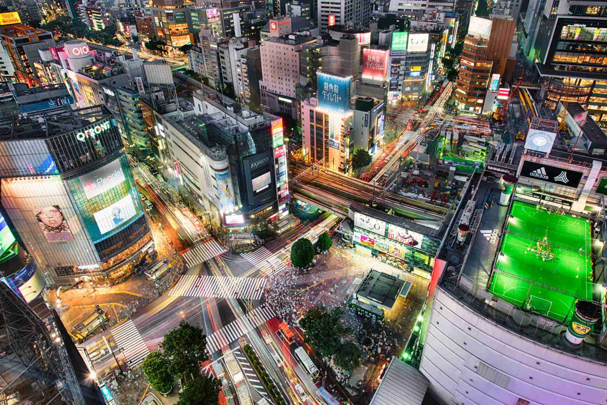 Tokyo is a fun city to visit all year long. (Photo by Duane Walker / Getty Images)