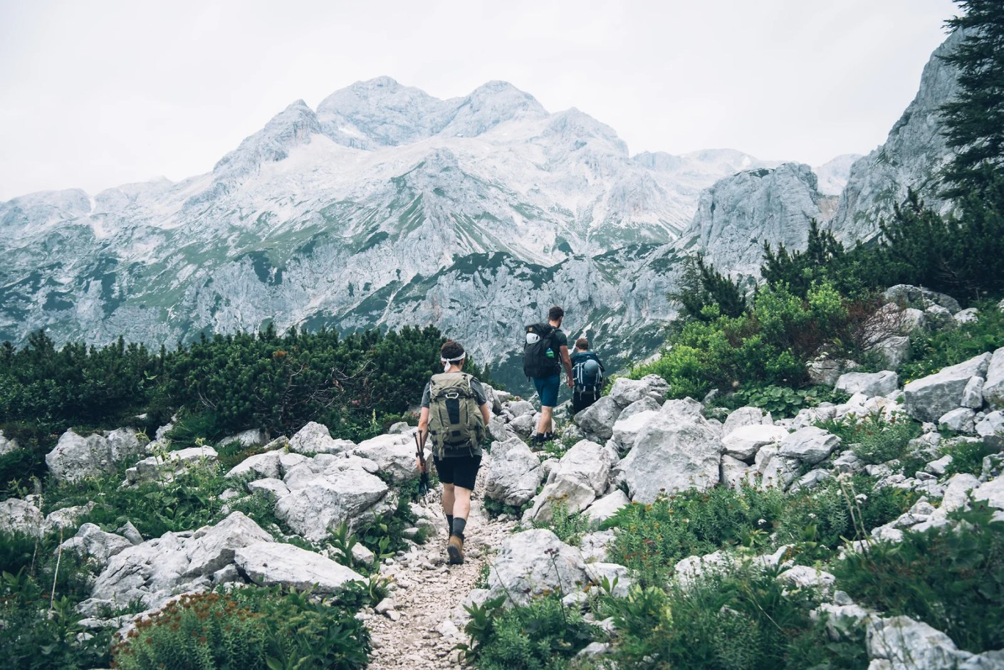 The Julian Alps Hiking Trail. Image courtesy of the Slovenian Tourist Board
