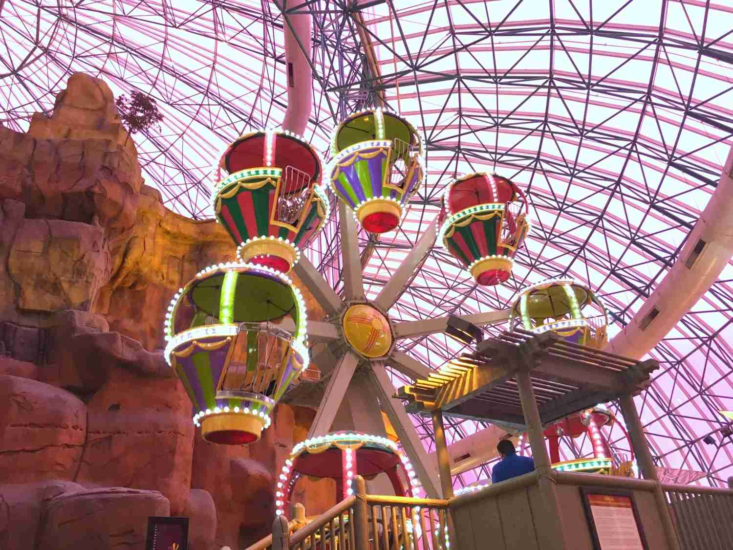 Las Vegas with kids - Circus Circus Adventuredome