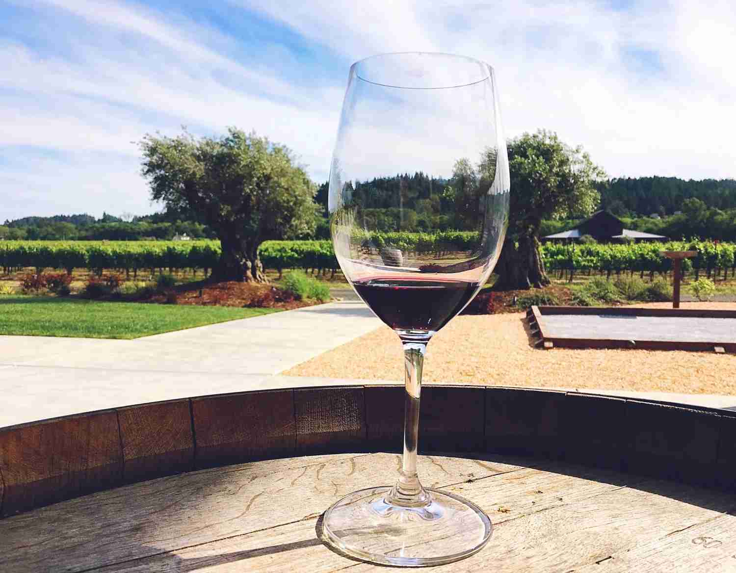 Photo of North California winery by Spencer Spellman.