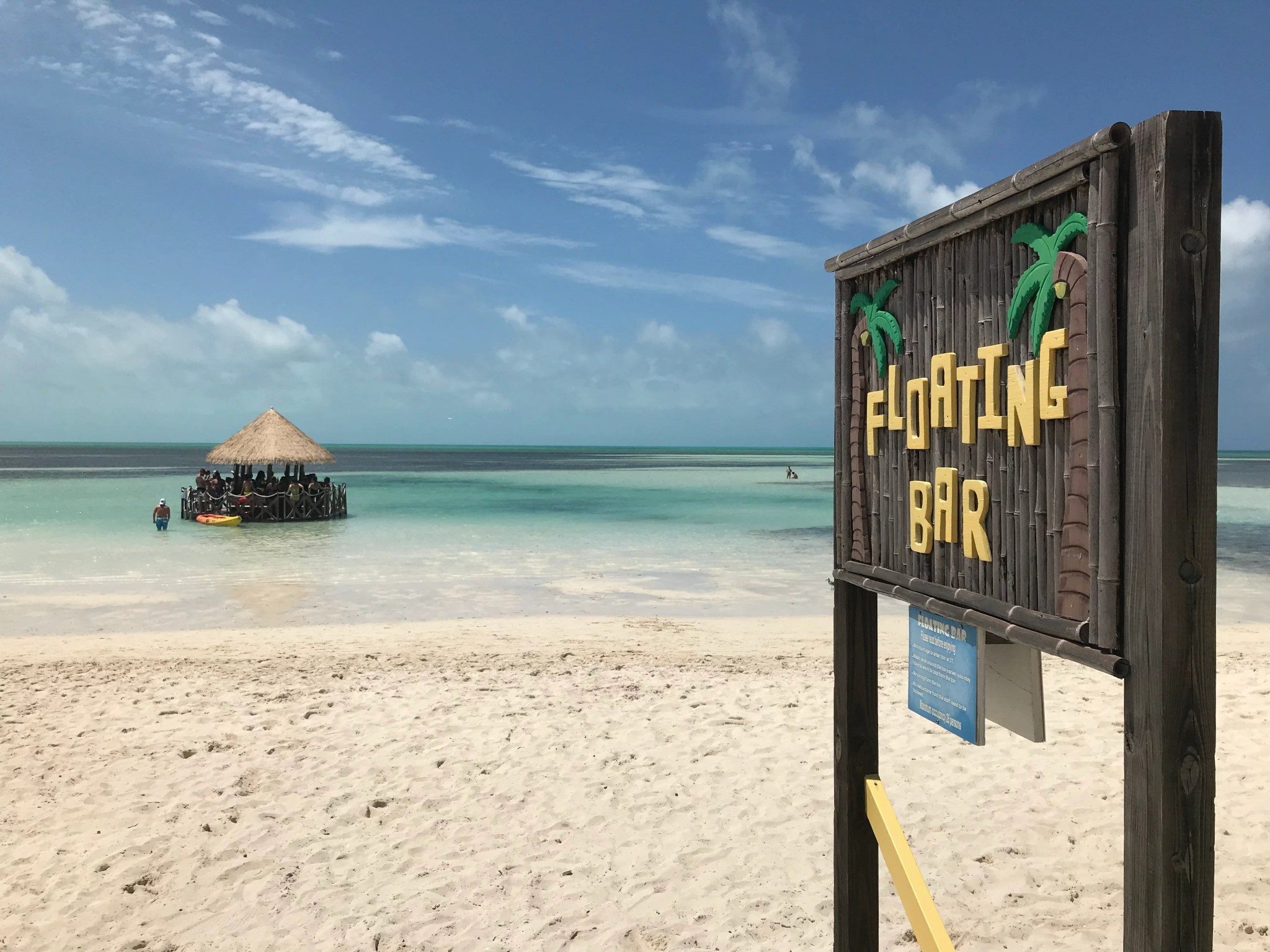 46f5f110c The island also has five complimentary dining venues, but they're nothing  too fancy (think: hot dogs, burgers).